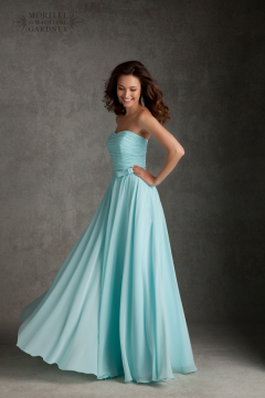 Mori Lee Bridesmaid Style 20423 Long
