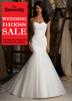 Christmas wedding dresses at Serenity Newton Abbot