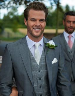Suit Hire at Serenity, Newton Abbot, Devon, Peter Posh, Ivory Waistcoat